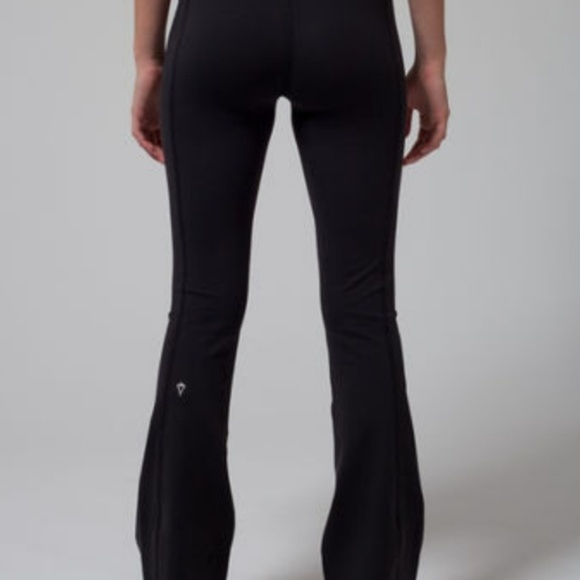579ffaf04fcce lululemon athletica Pants | Black Ivivva Flare Leggings | Poshmark
